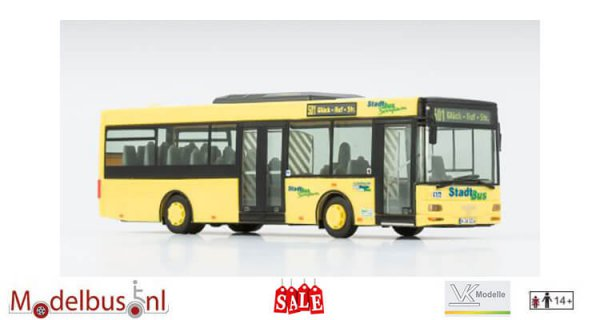 VK-Modelle 09383 MAN A76 Midi Dau-Bus GmbH