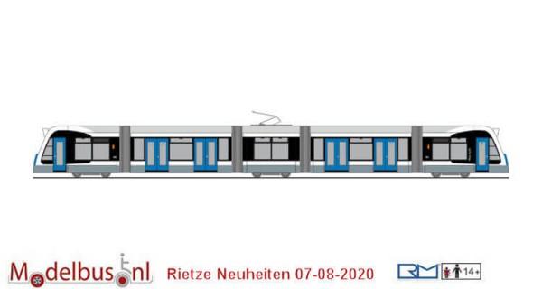 Rietze STRA01072 Siemens Combino SWU Ulm neutral