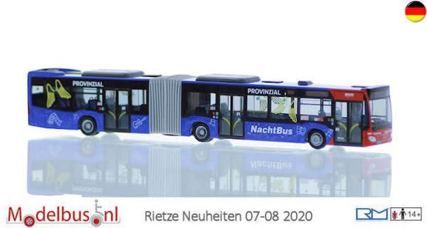 Rietze 73670 Mercedes-Benz Citaro G 15 Regio Münsterland Nachtbus
