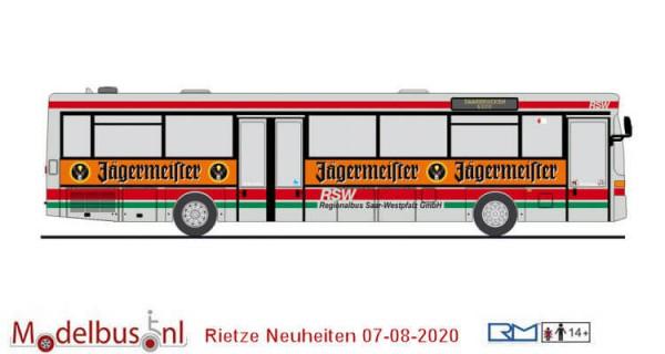 Rietze 77319 Mercedes-Benz O 407 RSW Saarbrücken - Jägermeister