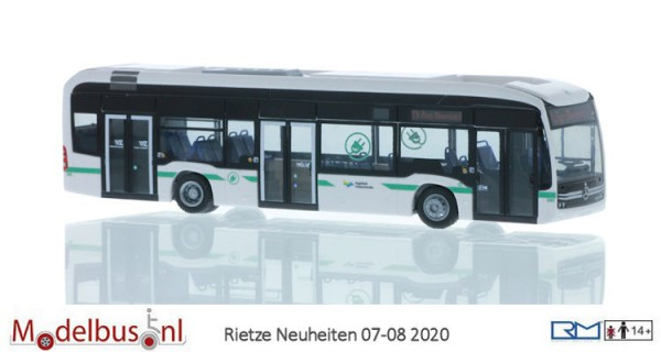 Rietze 75518 Mercedes-Benz eCitaro Zug Obersack