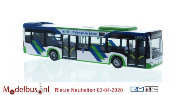 Rietze 73454 MBCitaro '15 Hybrid Hagener Straßenbahn