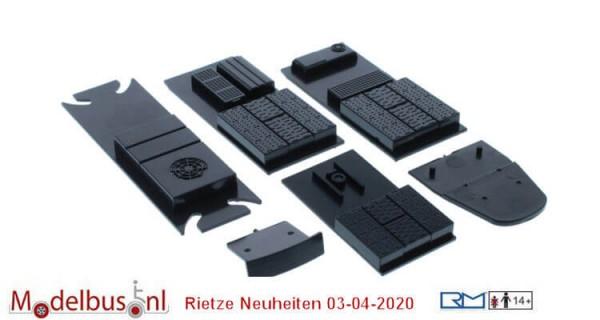 Rietze 70817 Siemens Avenio Dachaufbauten 1 Satz und Zielanzeigen