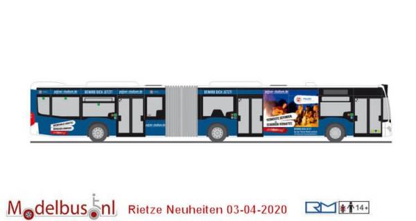 Rietze 73661 MB Citaro G´15 VOG Lüneburg - Polizei Niedersachsen