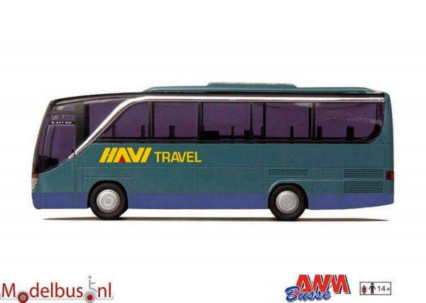 AWM Automodelle 71717 Setra 411 HD HAVI Travel