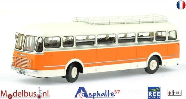 REE CB-122 Renault R4190 Orange and Grey - Transport Méresse - Iwuy (59)