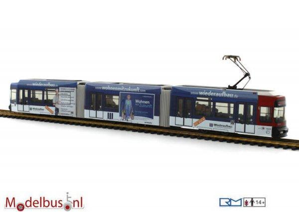 Rietze STRA01013 Adtranz GT6S Braunschweig - Baugen. Wiederaufbau 9558