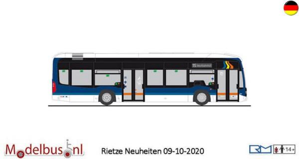 """Rietze 75523 Mercedes-Benz eCitaro """"Jena Nahverkehr"""""""
