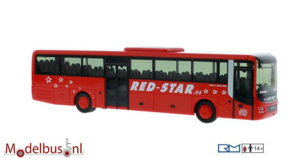 Rietze 74708 MAN Lion´s Intercity Red Star