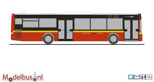 "Rietze 72743 MAN Lion's City ""Autobetrieb Sernftal"""