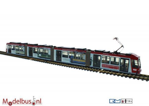 Rietze STRA01030 Adtranz GT8 30 J.Historisches Straßenbahn Depot St.Peter
