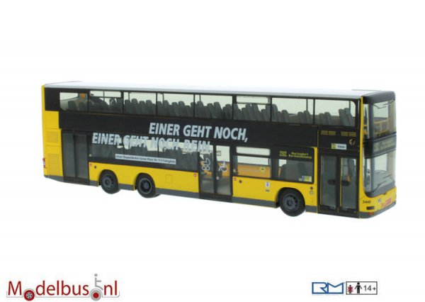 Rietze 67782 MAN Lion´s City DL07 BVG Imagekampagne