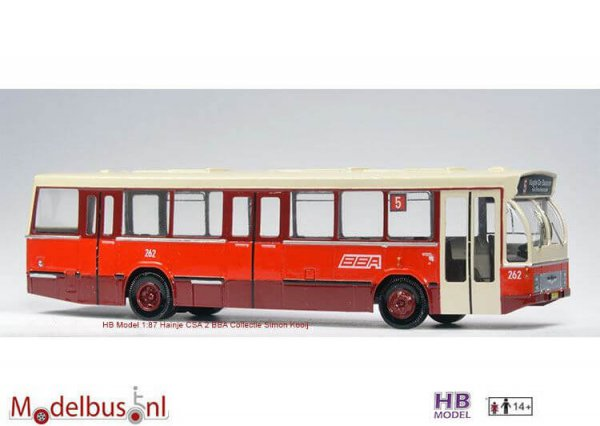HB Model BBA 262 DAF SB 201 DKDL Hanje CSA2