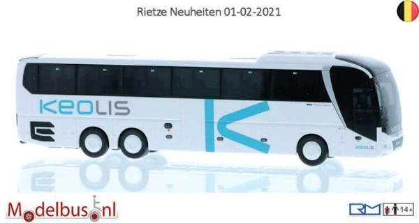 Rietze 74845 MAN Lion's Coach L´17 Keolis