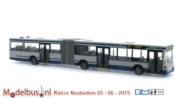 Rietze 76407 Mercedes-Benz O 405 GN2 WSW mobil Wuppertal