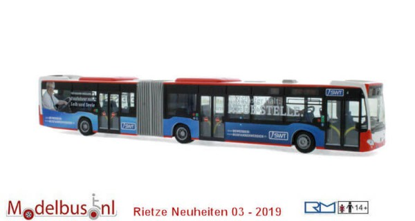 Rietze 69568 Mercedes-Benz Citaro G´12 Stadtwerke Trier