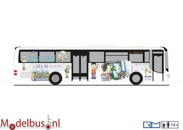 Rietze 74707 MAN Lion's Intercity Rebus Busschule Rostock
