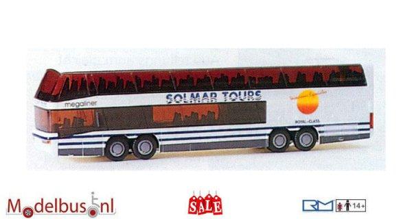 Rietze 60066 Neoplan Megaliner Solmar Tours