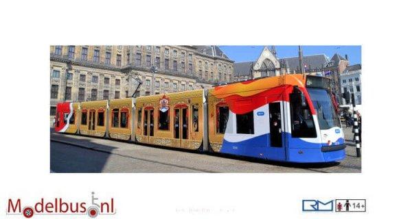Rietze R01058 Siemens Combino GVB Gouden Tram