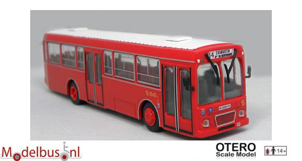 Otero Scale Model 87001A Pegaso 6038 EMT Madrid
