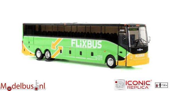 Iconic Replicas IR00128 VanHool CX-45: Flixbus - Los Angeles
