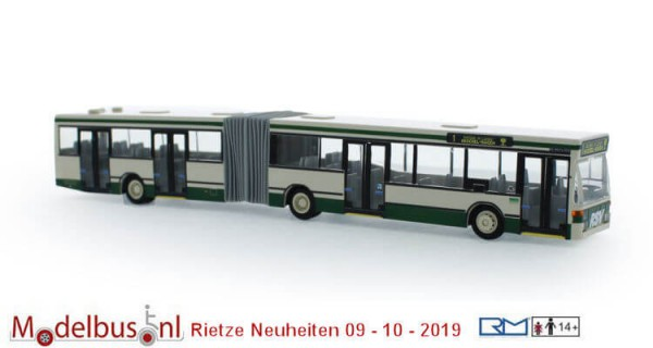 Rietze 76424 Mercedes Benz O 405 GN2 RSV, Reutlingen