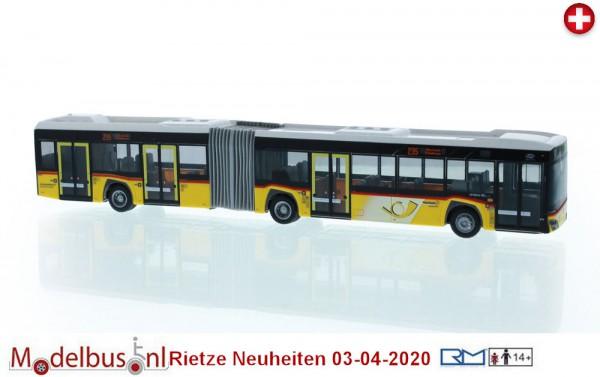 Rietze 77501 New Solaris Urbino 18 (Bj. 2019) Postauto Schweiz -PU Rolf Stutz AG Jonen-