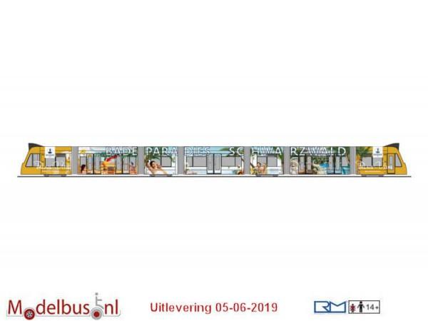 Rietze STRA01045 Siemens Combino Badeparadies Schwarzwald, Freiburg