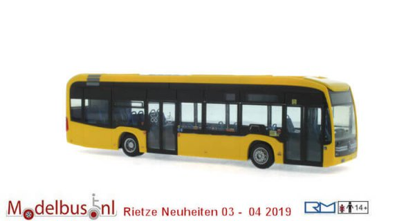 Rietze 75504 Merc3edes Benz eCitaro BVG Berlin