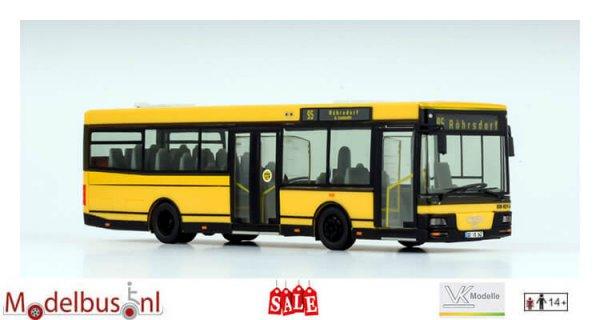 VK-Modelle 09081 MAN A76 Dresdner Verkehrsservicegesellschaft mbH (DVS)