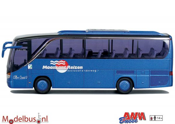 AWM Automodelle 71711 Setra S 411 HD Maaskant Reizen