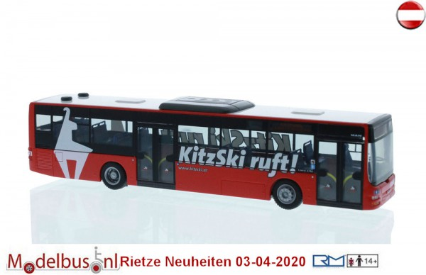 "Rietze 72734 MAN Lion´s City ""Skiwelt Wilder Kaiser Brixental"""