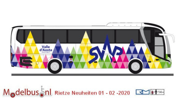 Rietze 74835 MAN Lion´s Coach ´17 SVAP