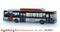 Rietze 72737 MAN Lion's City CNG Qbuzz
