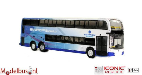 Iconic Replicas IR0085 Alexander Dennis Enviro 500 Double Decker: Corporate