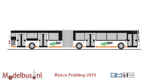 Rietze 74106 MAN Lion's City GL `15 Regiobus (CH)