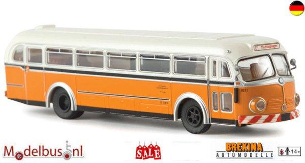 Brekina 50515 MB O 6600 Bus SSB Werkstatt Stuttgart