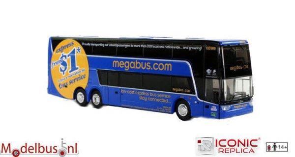 Iconic Replicas 087-0091 van Hool TDX Megabus