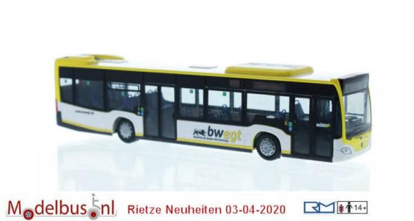 Rietze 73455 Mercedes-Benz Citaro `15 Hybrid Omnibusverkehr Göppingen