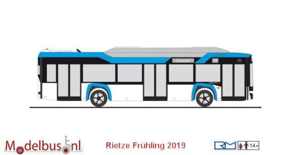 Rietze 76801 Solaris Urbino Electric 12 `19 Vorführdesign