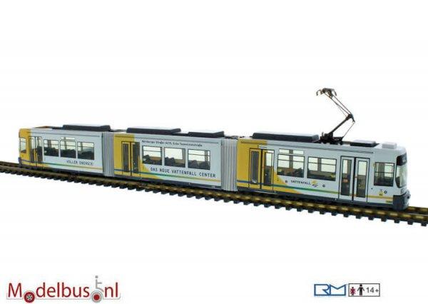 Rietze STRA01000 Adtranz GT6 BVG Berlin - Vattenfall