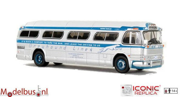 Iconic Replicas 087-0149 GM PD 4104 Motorcoach Greyhound Minneapolis