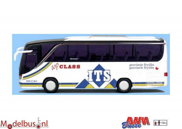 AWM Automodelle 71712 Setra 411 HD ITs Reizen Bolsward
