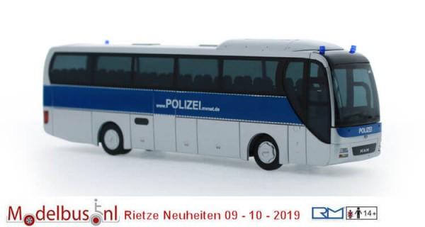 """Rietze 65553 MAN Lion's Coach '15 """"Polizei Mecklemburg-Vorpommern"""""""