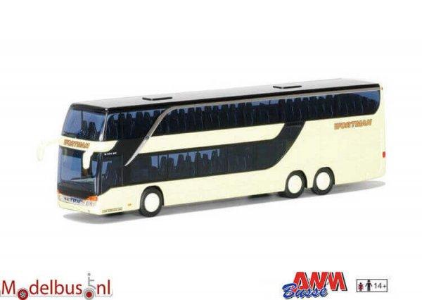 AWM Automodelle 73907 Setra S 431 DT Wortmann