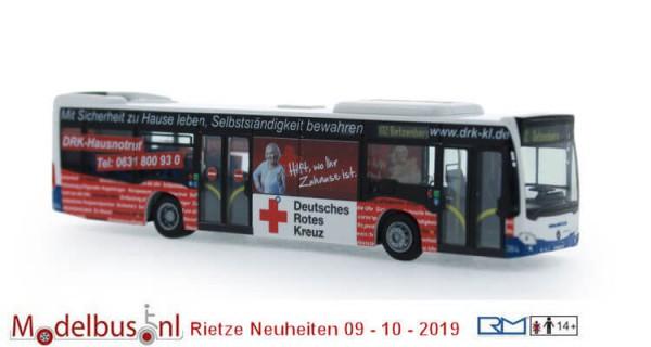 """Rietze 73446 Mercedes-Benz Citaro '15 """"Stadtwerke Kaiserlautern - DRK"""""""