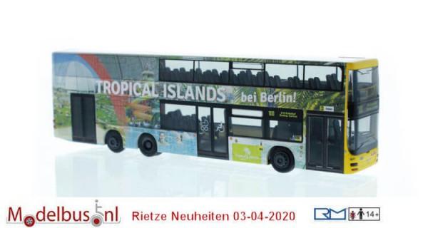"""Rietze 67787 MAN Lion´s City DL 07 """"Tropical Islands"""""""
