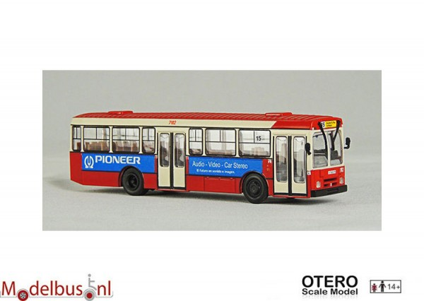 Otero Scale Model 87001H Pegaso 6038 TMB