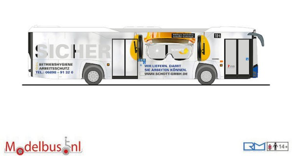 Rietze 73041 Solaris Urbino 12 ´14 Völklinger Verkehrsbetriebe