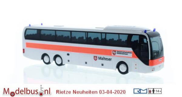 """Rietze 65555 MAN Lion´s Coach L """"Malteser Katastrophenschutz Niedersachsen"""""""